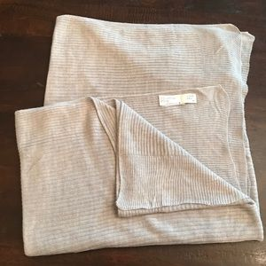 NWOT A New Day Gray Knit Wrap/Scarf
